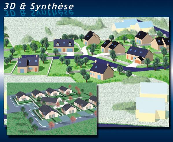 Dubois cr ations 3d image de synth se for Modelisation maison 3d
